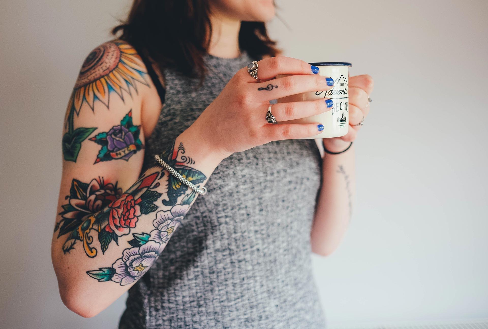 Die richtige Tattoo-Pflege