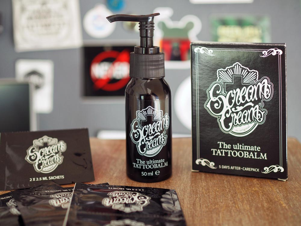 ScreamCream - the ultimate Tattoobalm Set